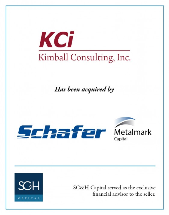 Kimball Consulting Inc:Schafer Metalmark