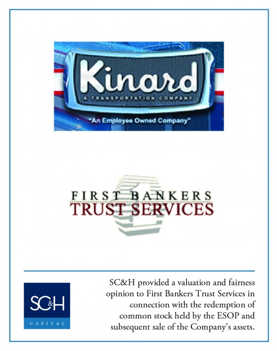 Kinard Trucking:First Bankers