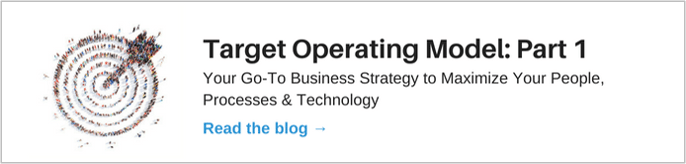 Target Operating Model Blog: Part 1