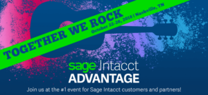 Sage Intacct Advantage 2018