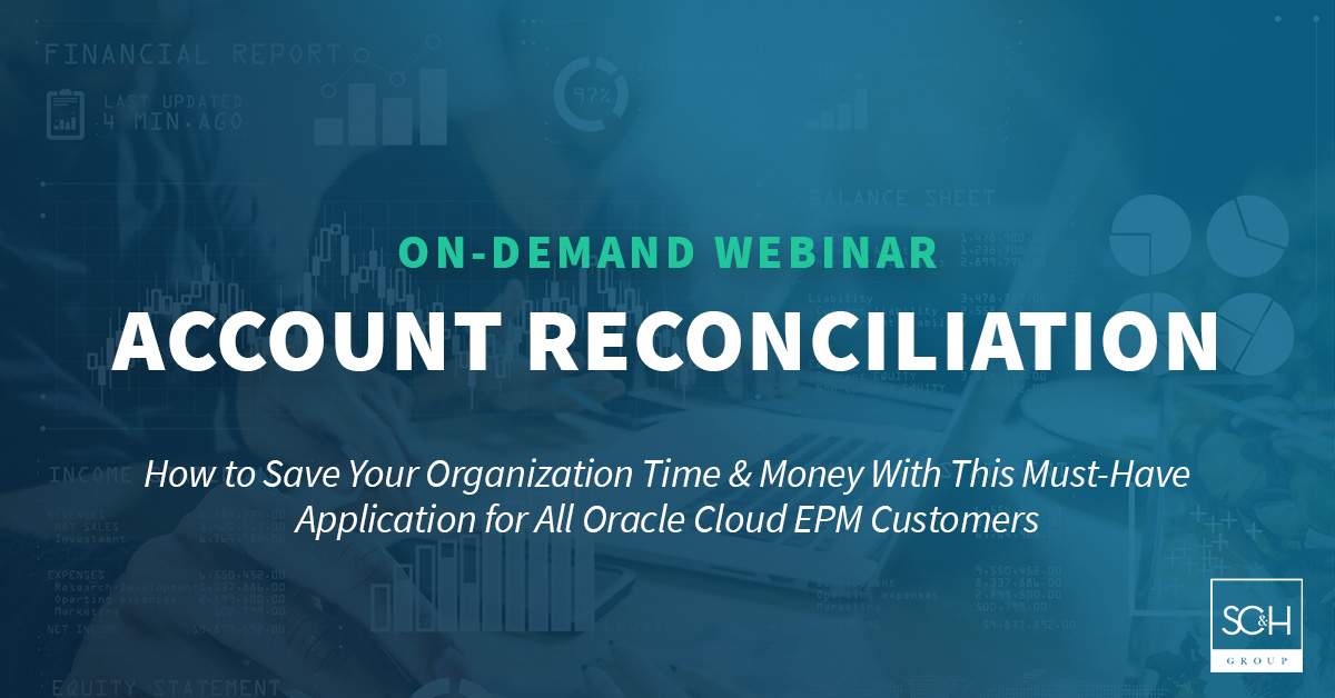 Account Reconciliation On-Demand Webinar