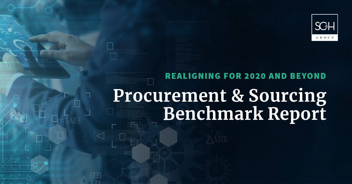 SC&H Group's 2020 Procurement and Sourcing Benchmark Report